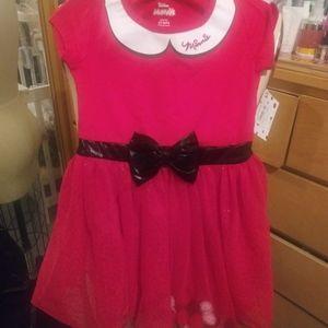 Two-piece Minnie Mouse dress